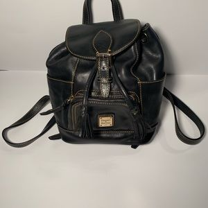 Dooney & Bourke Black Mini Backpack